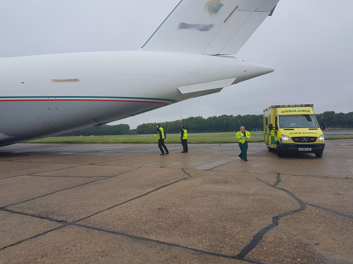 Air Ambulance Transfer